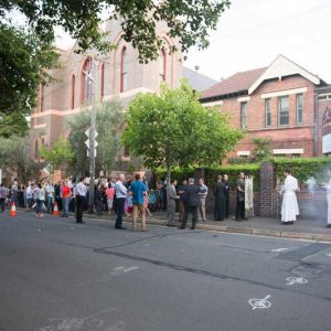 40 Days for Life – Opening Procession
